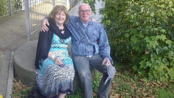 Andreas Maeckler und Freda Kelly